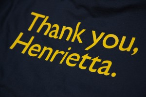 Thank you Henrietta t-shirt