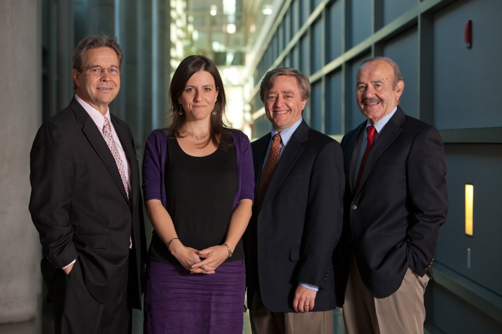 James Potter, Rebecca Skloot, Dr. Daniel Ford and Dr. Roland Pattillo