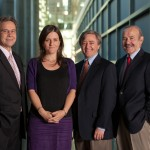 James Potter, Rebecca Skloot, Dr. Daniel Ford and Dr. Roland Pattillo