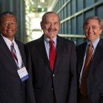 Dr. David Nichols, Dr. Roland Pattillo and Dr. Daniel Ford