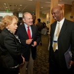 Dr. and Mrs. Pattillo and Dr.  M. Chris Gibbons of the Urban Health Institute, JHSPH
