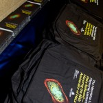 Programs and tote bags