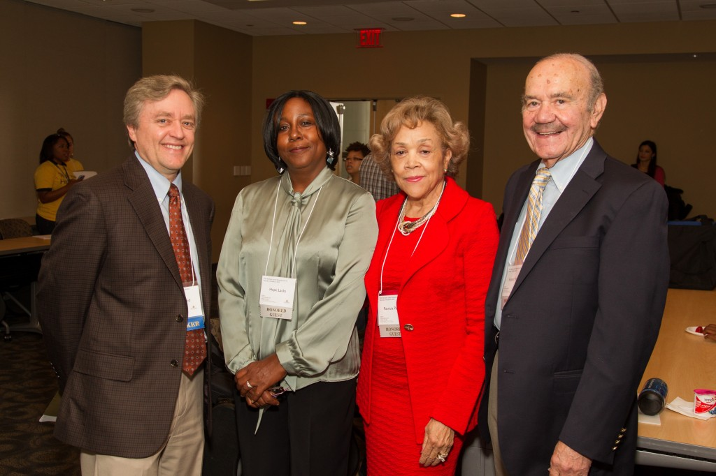 Dr. Ford, Hope Lacks and Dr. and Mrs. Pattillo