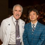 Drs. Paul Rothman, Dean of JH SOM and Daniel Teraguchi