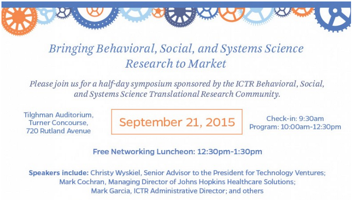 Bringing Behavioral, Social, and Systems Science Research to Market