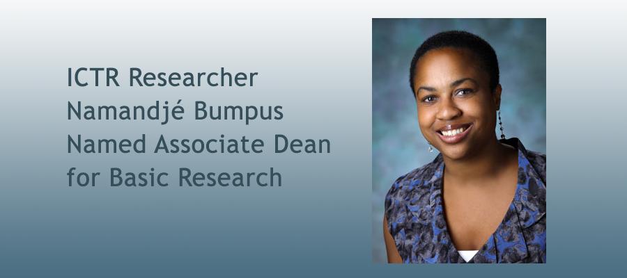 Namandje Bumpus Named Associate Dean
